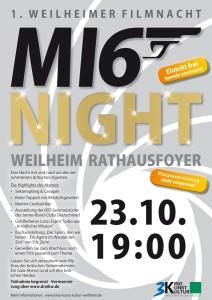 MI6 Plakat kl